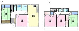 [一戸建] 埼玉県坂戸市西坂戸5丁目 の賃貸【/】の間取り