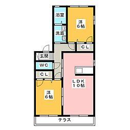 G・Hガーデンハイム[1階]の間取り