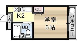 PRESTAGE MISASAGI(プレステージミササギ)[405号室号室]の間取り