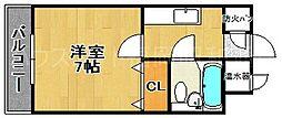 エステートモア大濠れんが通り[3階]の間取り