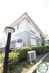 兵庫県明石市和坂の賃貸アパートの外観