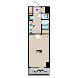 エステムプラザ横浜みなとみらいWEST[11階]の間取り