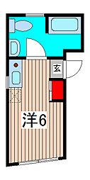 デューク北浦和K2[3階]の間取り