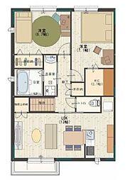 マノワール堂本Ⅱ[2階]の間取り