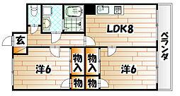 北方ハヤシビルI[6階]の間取り