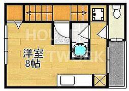 コットンハウス11[201号室号室]の間取り