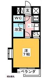 フォーラム南福岡[2階]の間取り