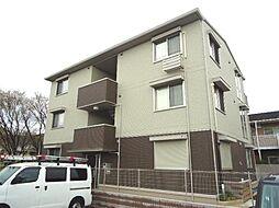 大阪府大東市御供田2丁目の賃貸アパートの外観