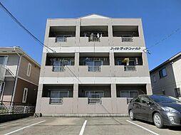 愛知県北名古屋市鹿田天王山の賃貸マンションの外観