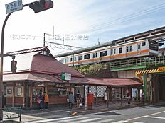 中央本線「日野」駅 距離1440m