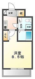 セレニテ甲子園[2階]の間取り