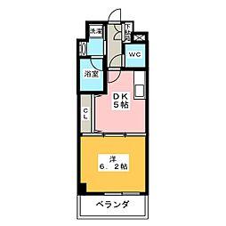 メゾン ド ココ[3階]の間取り