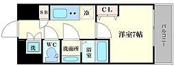 ファーストステージ江戸堀パークサイド[3階]の間取り
