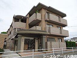 福岡県福岡市南区弥永2丁目の賃貸マンションの外観