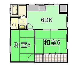 平岩アパート[2階]の外観