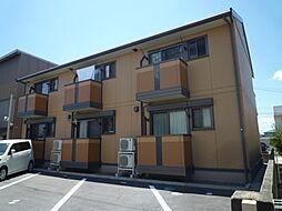 岡山県倉敷市川入の賃貸アパートの外観