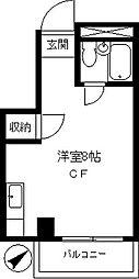 第5エスペランス[3階]の間取り