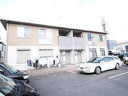 岡山県岡山市北区野田3丁目の賃貸アパートの外観