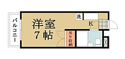 アートハイツ草加II[304号室]の間取り