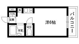 エルジャン夙川[203号室]の間取り