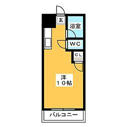 アカデミックハイツNo.1[2階]の間取り