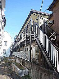 東京都板橋区上板橋2の賃貸アパートの外観