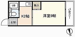 EFT-牛田新町[1階]の間取り