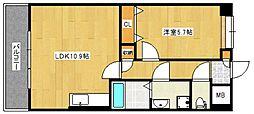 グランドアマレイVII番館[1階]の間取り