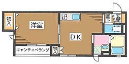 (仮称)サニイフィルド町屋[3階]の間取り