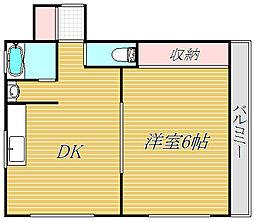 モア・セカンド[2階]の間取り