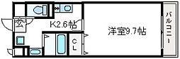 大阪府高槻市神内2の賃貸マンションの間取り