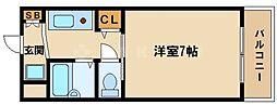 レスポワール東[3階]の間取り