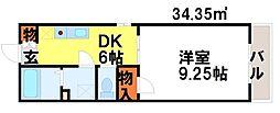 プレミール21[303号室]の間取り