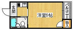 プレアール材木町[5階]の間取り