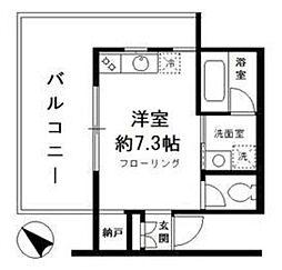 サンミッシェル渋谷[4階]の間取り