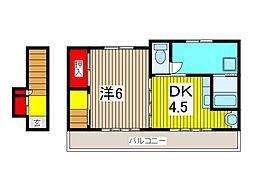 NSハウス2[2階]の間取り