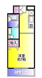 UEDA BUILDING[205号号室]の間取り