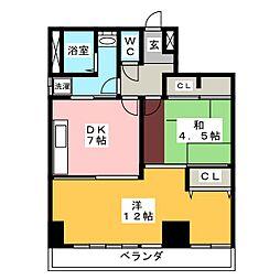RKビル[2階]の間取り