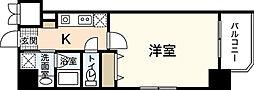 アクアシティ舟入中町[3階]の間取り