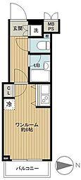 ルーブル新宿西落合参番館[402号室号室]の間取り