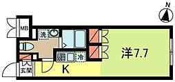 東京都杉並区高円寺南1丁目の賃貸マンションの間取り