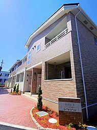 東京都東久留米市中央町5丁目の賃貸アパートの外観