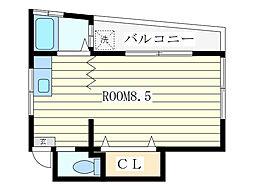 千山荘[1階]の間取り
