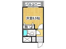 桜川レヂデンス[12階]の間取り