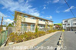 大阪府枚方市田口3丁目の賃貸アパートの外観