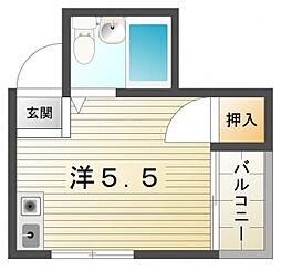 住地マンション[2階]の間取り