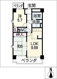 藤和シティコープ千代田[8階]の間取り