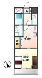 M−stage Aoi(エムステージアオイ)[9階]の間取り