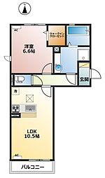グランシティクレール[3階]の間取り