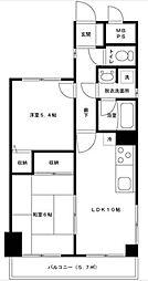 ライオンズマンション大宮第3[4階]の間取り